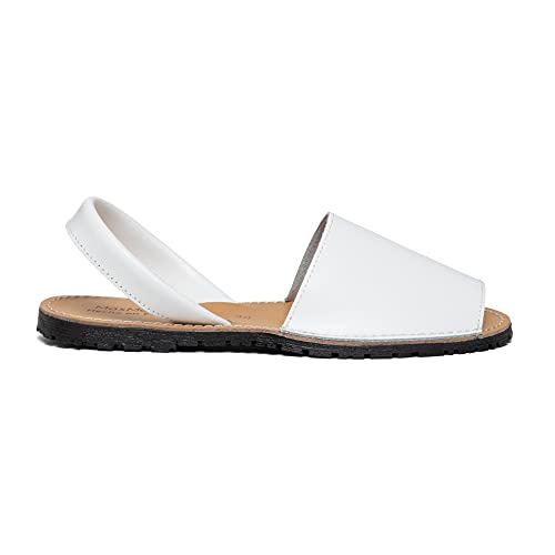 Zapatos Menorquina Piel Cuero Hecho en España Sandalia