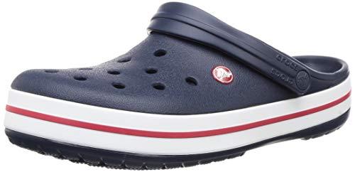 Crocs Crocband, Zuecos Unisex Adulto, Azul (Navy), 38/39 EU
