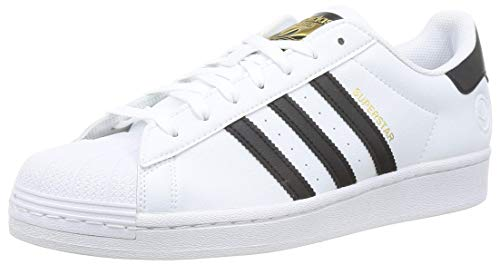 adidas Superstar Vegan, Zapatillas de Gimnasio para Hombre, Footwear White Core Black Green, 48 2/3...