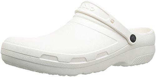 Crocs Specialist II Clog, Unisex Adulto Zueco, Blanco (White), 38-39 EU