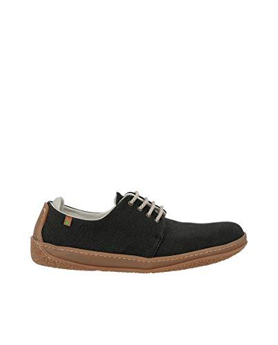 El Naturalista N5601T Seaweed Canvas Black/Amazonas Negro Hombre 44 Zapatos Cordones