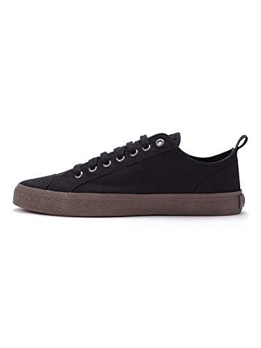 Ethletic Fair Sneaker Goto Lo, Zapatillas Unisex Adulto, Negro Azabache, 45 EU