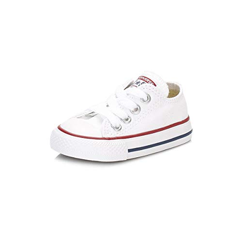 Converse Toddler White All Star Ox Trainers-UK 5 Infant