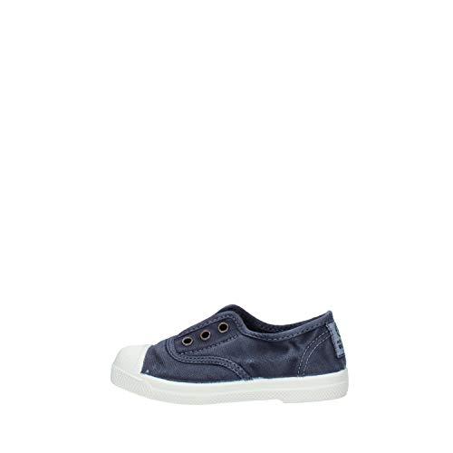 Natural World - Zapatillas bajas para mujer, color Azul, talla 25 EU