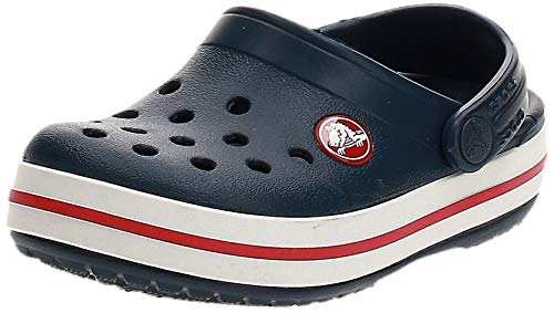 Crocs - Crocband Clog K 204537-485, Zapatos de playa y piscina Unisex Niños, Azul (Navy...