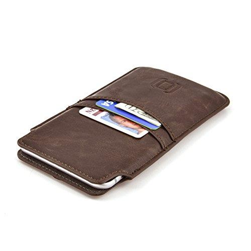 Dockem Estuche Cartera para iPhone 12 Pro MAX, 11 Pro MAX, XS MAX, 8/7 Plus, 6/6S Plus - Tarjetero...