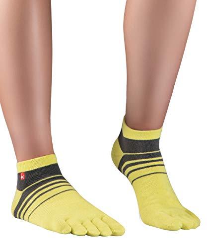Knitido Track&Trail Spins Calcetines deportivos con dedos de hombre y mujer, para deporte, running y...