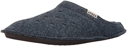 Crocs Classic Slipper, Zapatillas de Estar por casa Unisex Adulto, Azul (Nautical Navy/Oatmeal),...