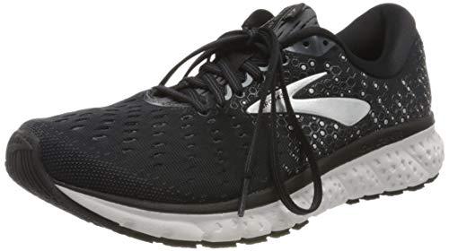 Brooks Glycerin 17, Zapatillas para Correr para Hombre, Black/Ebony/Silver, 42.5 EU