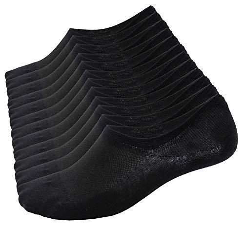 Calcetines Cortos hombre y mujer, zapatillas invisibles de 92% algodón elástico, calcetines cortos...