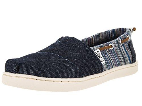 TOMS - Zapatillas para niña azul Blue Denim