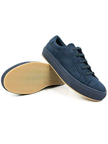 Mens Colour Sneakers Navy Blue-UK 8 / EU 42 / US 9