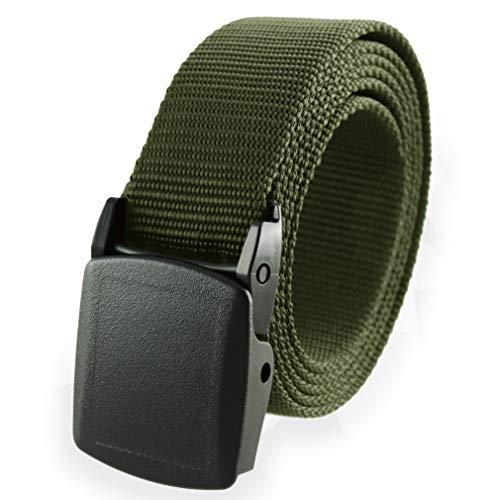 Cinturón de nailon estilo militar americano, talla única, hebilla desmontable de Thomas Bates -...