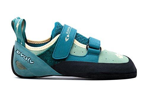 Evolv Elektra - Zapatillas de Escalada (Jade Seapina), Mujer, Zapatos de Escalada, EVL0290 T5,5 US,...