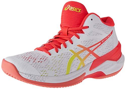 ASICS 1052A023-44, Zapatillas de Voleibol Mujer, Blanco White 1052a023 100, EU