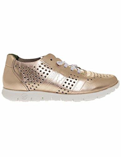 Slowwalk Zapatillas Mujer Morvi Metalizado Oro 39