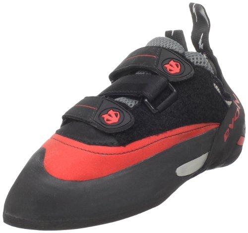 Evolv Hombres Bandit SC zapatos de escalada, Rojo (Rojo/Negro), 5,5 D(M) US