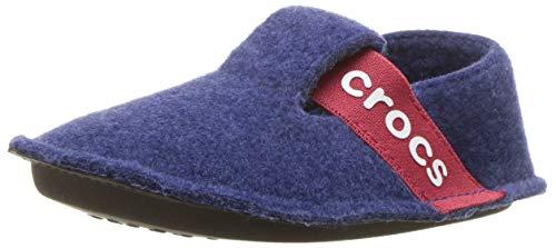 Crocs Classic Slipper K, Zapatillas de estar por casa, Unisex Niños, Azul (Cerulean Blue), 28-29 EU
