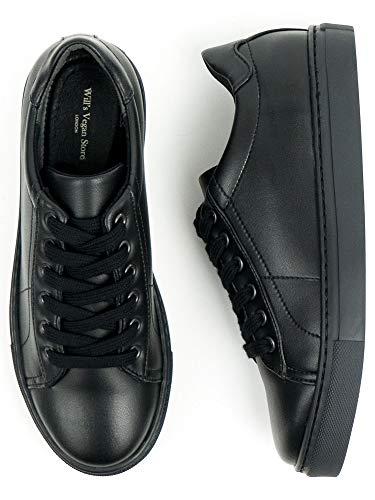 Will's Vegan Zapatos Unisex Niños NY Zapatillas Negro, color Negro, talla 17 EU
