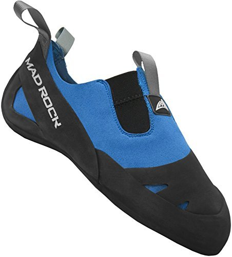 Mad Rock Mens Remora Climbing Shoe, Black/Blue, 11.5 M US by Mad Rock