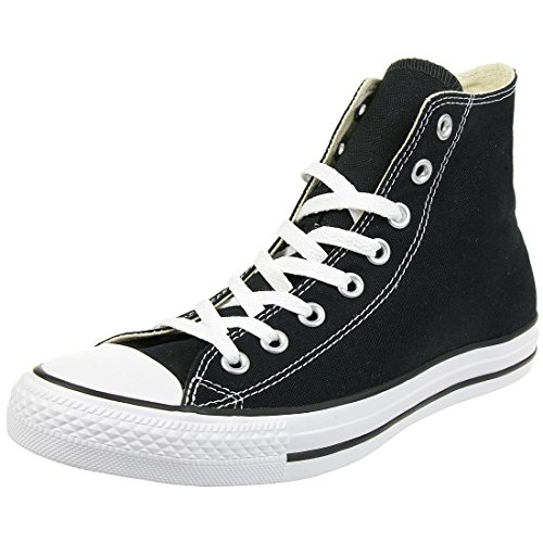 Converse All Star Hi Canvas Zapatillas Negras-UK 7