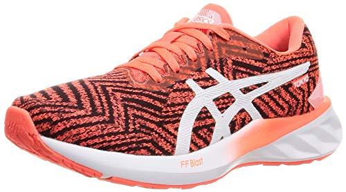 Asics Roadblast Tokyo, Road Running Shoe Mujer, Sunrise Red/White, 39 EU