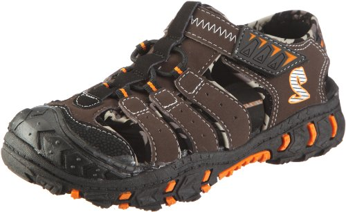 Skechers Gripper S - Sandalias de Tela niño, Color marrón, Talla 29