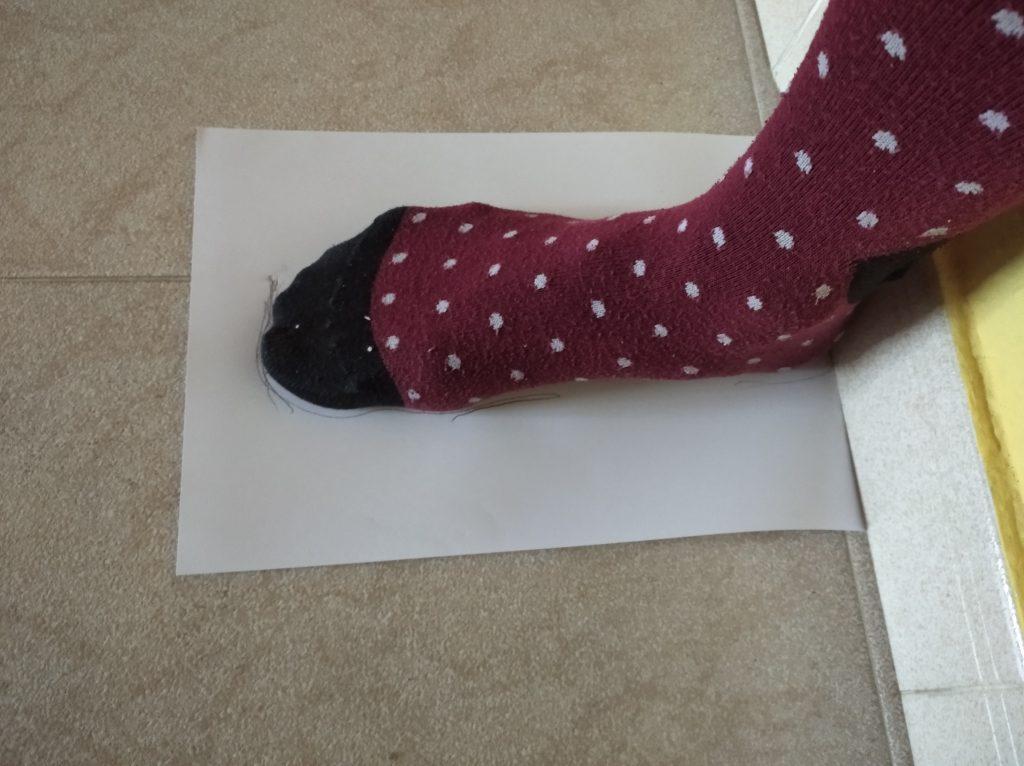 como-medir-talla-pie